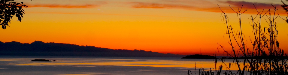 A Salish Sea Sunrise