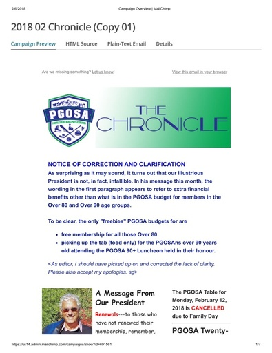 2018 02 The Chronicle