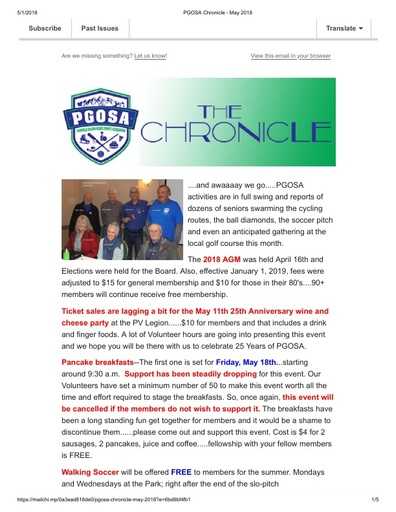 2018 05 The Chronicle
